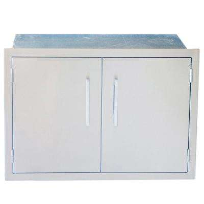 Signature Series 30 in. Weather Sealed Dry Storage Pantry