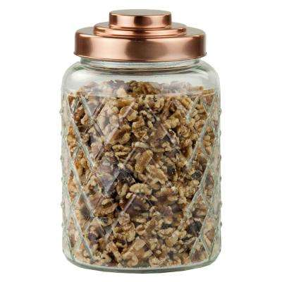 114.96 oz. Glass Jar with Copper Top