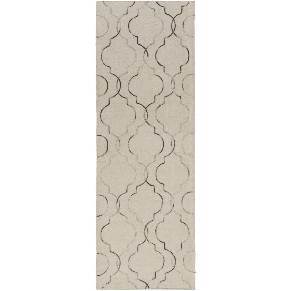 Bailo Light Gray 2 ft. 6 in. x 8 ft. Indoor
