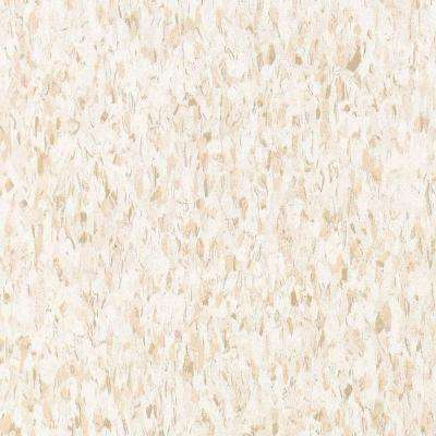 Take Home Sample - Standard Excelon Imperial Texture Fortress White Vinyl Composition Commercial Tile - 6 in. x 6 in.
