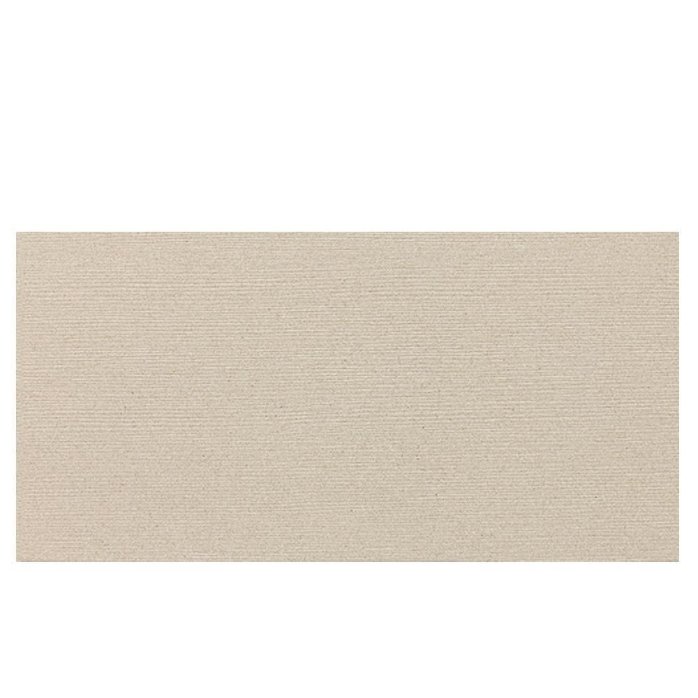 Daltile Identity Bistro Cream Grooved 12 in. x 24 in. Porcelain Floor and Wall Tile (11.62 sq. ft. / case)-DISCONTINUED