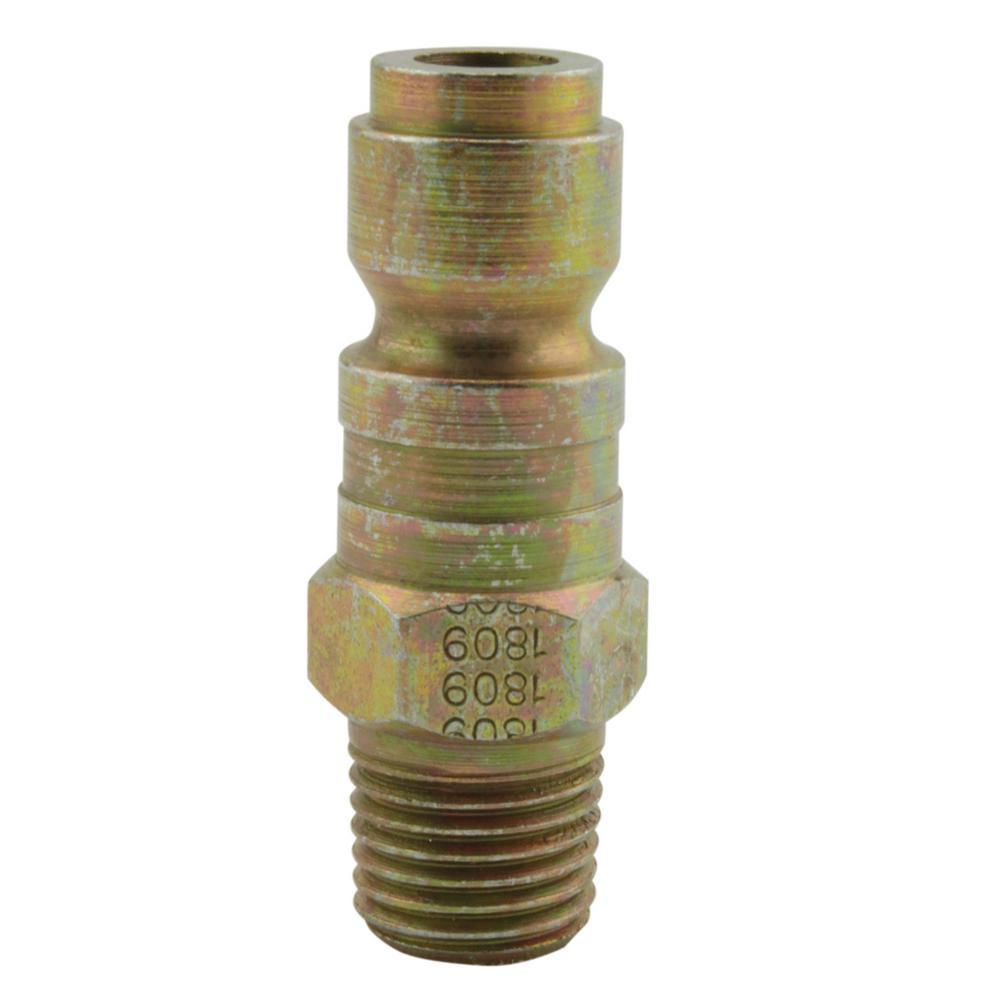 1/4 in. MNPT P Style Plug (10-Piece)