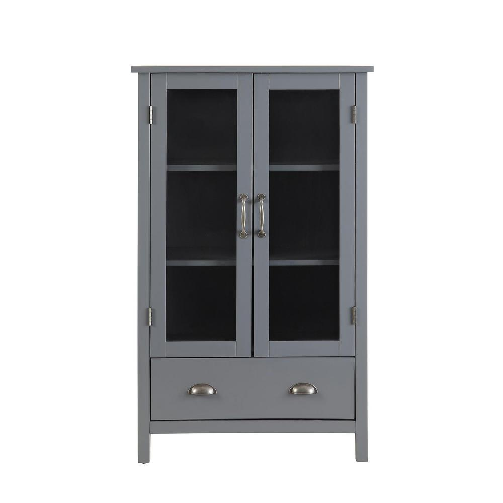 Usl Olivia Large Storage Pantry Sk19087br1 Gy The Home Depot