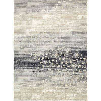 Mirage Dark Gray 9 ft. 10 in. x 13 ft. 5 in. Area Rug