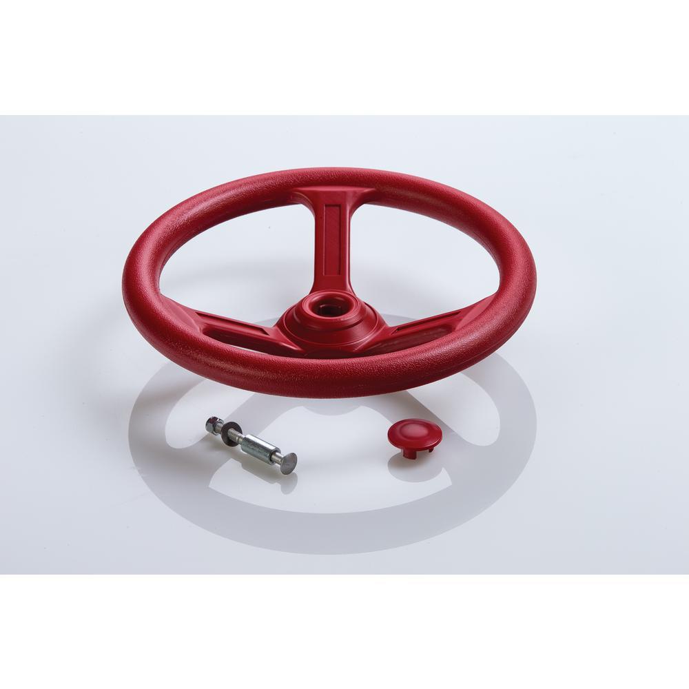 Steering Wheel- Red