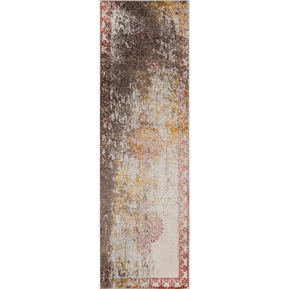 Momeni Luxe Rust 2 ft. x 8 ft. Indoor Runner Rug
