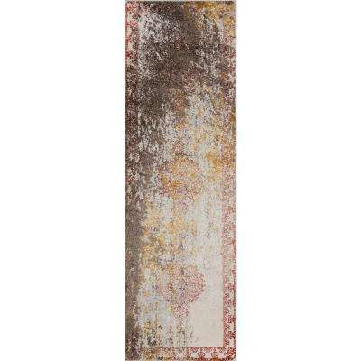 Luxe Rust 2 ft. x 8 ft. Indoor Runner Rug