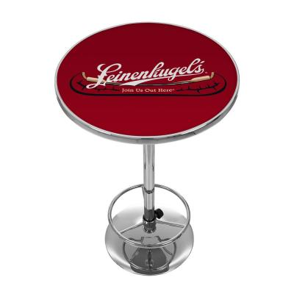 Leinenkugel Chrome Pub/Bar Table