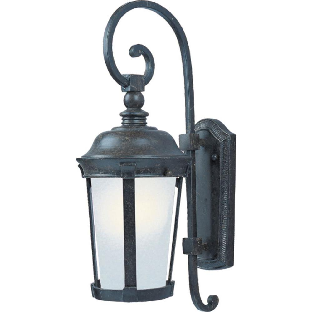 Dover Energy Efficient 1-Light Bronze Outdoor Wall Mount