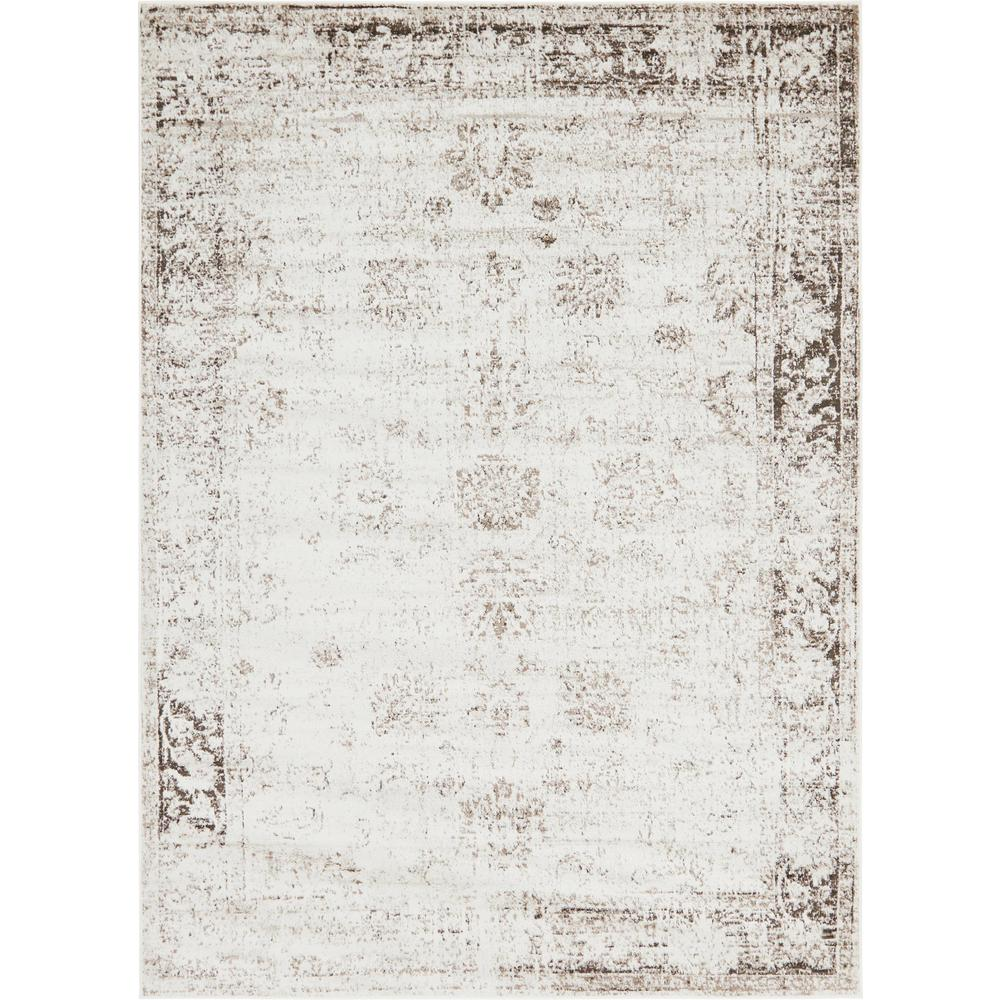 Unique Loom Sofia Beige 7 X 10 Rug 3141344 The Home Depot