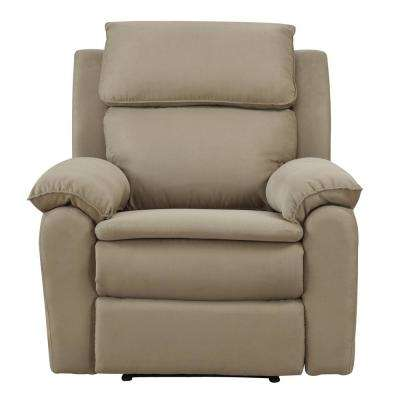 Warren Recliner in Beige