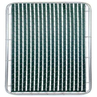 Casa Verde 6 ft. Green Fence Slat