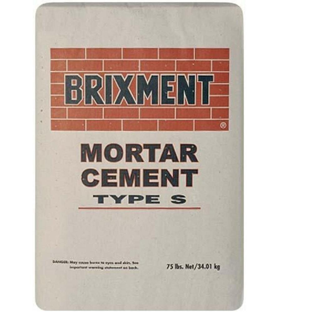 Type S 75 lb. Brixment Mortar Mix