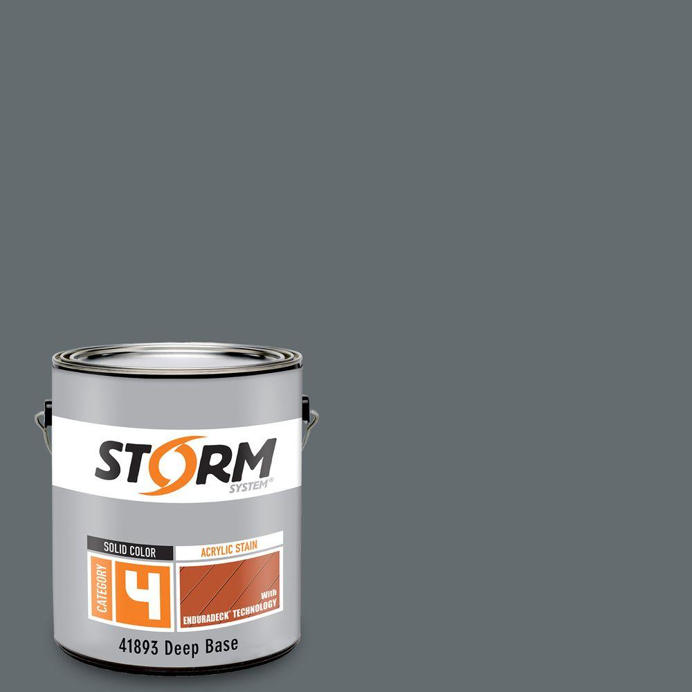 Category 4 1 gal. Gray Flannel Suit Exterior Wood Siding, Fencing