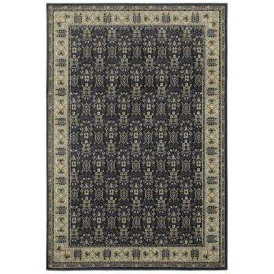 Gianna Indigo 1 ft. 10 in. x 3 ft. Area Rug