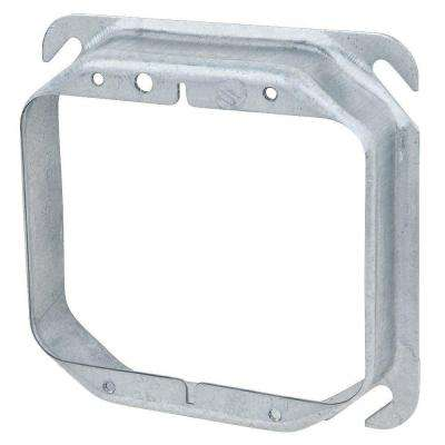 2-Gang Square Mud Ring (Case of 10)