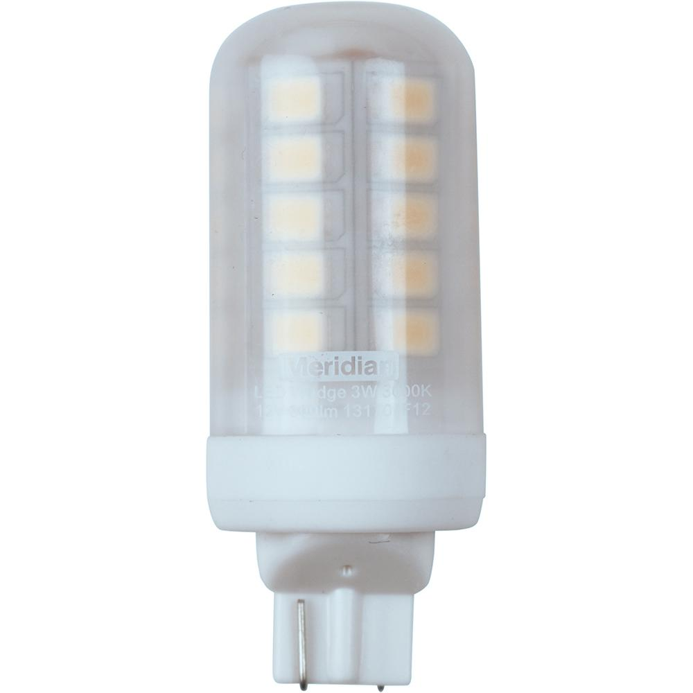 meridian 20 watt equivalent bright white t5 wedge base led light bulb 13170 the home depot. Black Bedroom Furniture Sets. Home Design Ideas