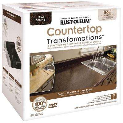 70 oz. Java Stone Large Countertop Kit
