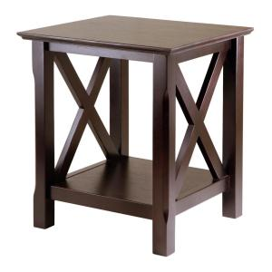 Winsome Wood Xola Cappuccino End Table by Winsome Wood