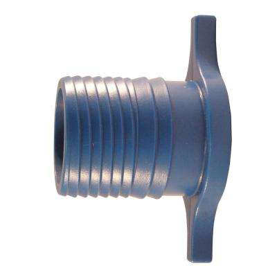1-1/4 in. Blue Twister Polypropylene Insert Plug