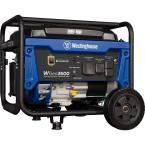 WGen3600 4,650/3,600 Watt Gasoline Powered RV-Ready Portable Generator with Automatic Low Oil Shutdown and Wheel Kit