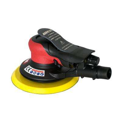 Composite 6 in. Central Vac Orbital Palm Sander 3/16 in. Orbit