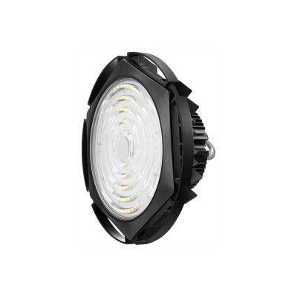Waterproof UFO 100-Watt Black 5000K 15000 Lumens IP65 Integrated LED High Bay Light