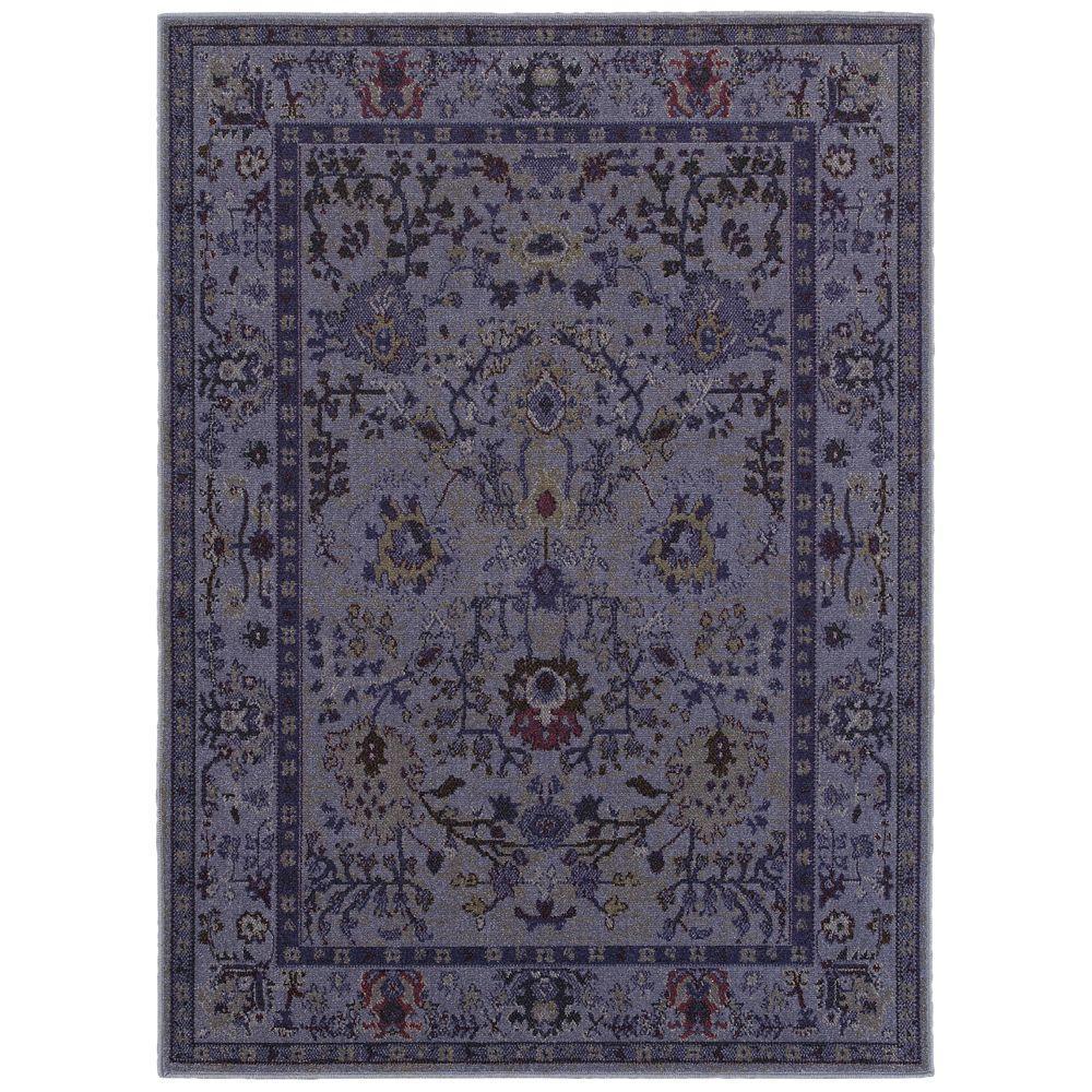 Overdye Purple 9 ft. 6 in. x 12 ft. 2 in. Area Rug
