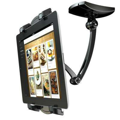 2-in-1 iPad Wall Mounts Kitchen Mount Stand for 7 in. - 12 in. Tablets iPad Air/iPad Mini and All Tablets