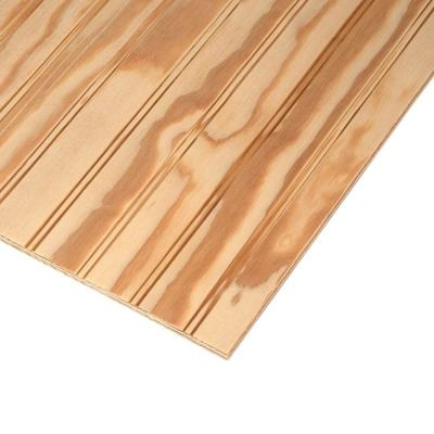 Plywood Siding Panel T1 11 4 In Oc Nominal 19 32 In X 4 Ft X 8 Ft Actual 0 563 In X 48 In X 96 In 177189 The Home Depot