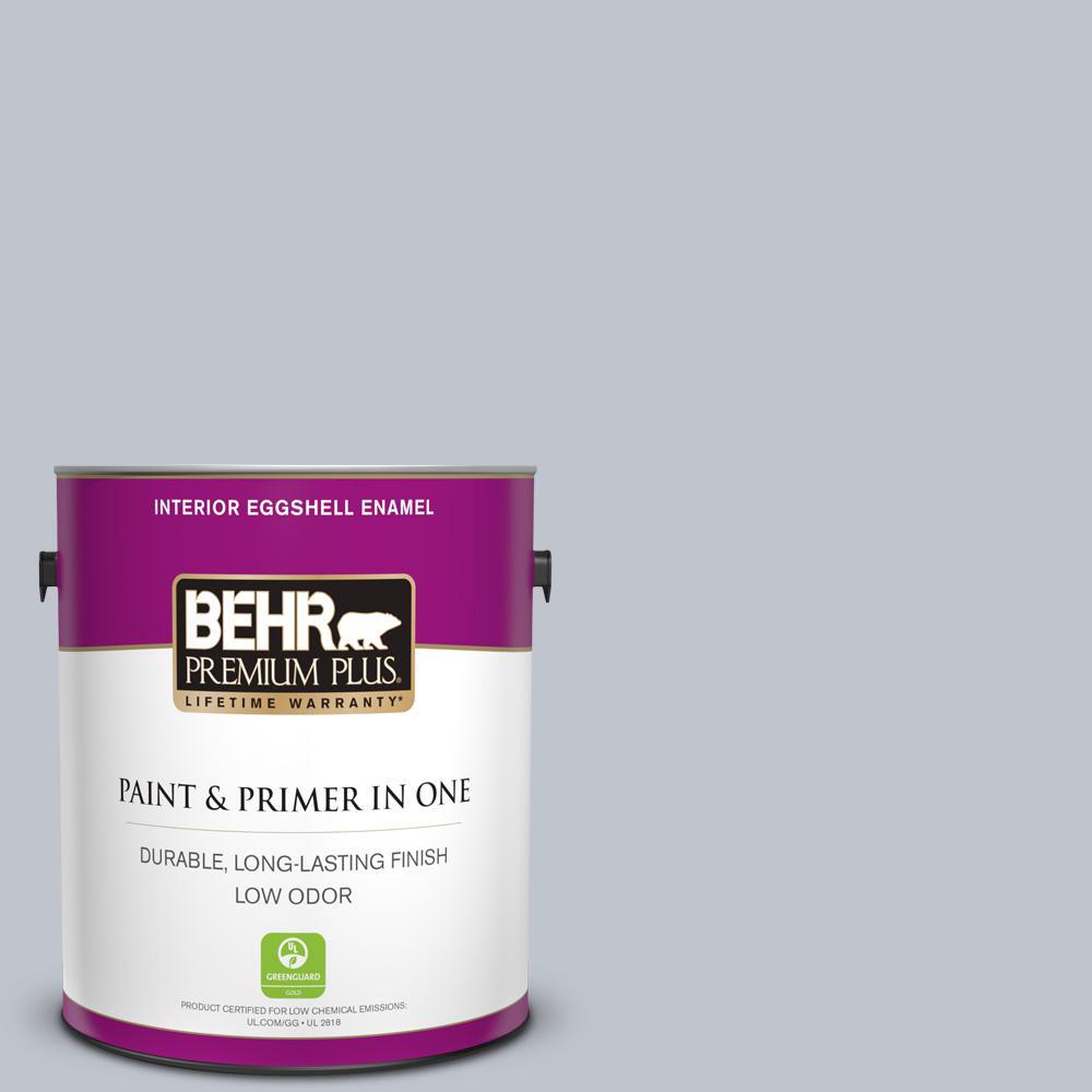 1 gal. #N540-2 Glitter color Eggshell Enamel Low Odor Interior Paint