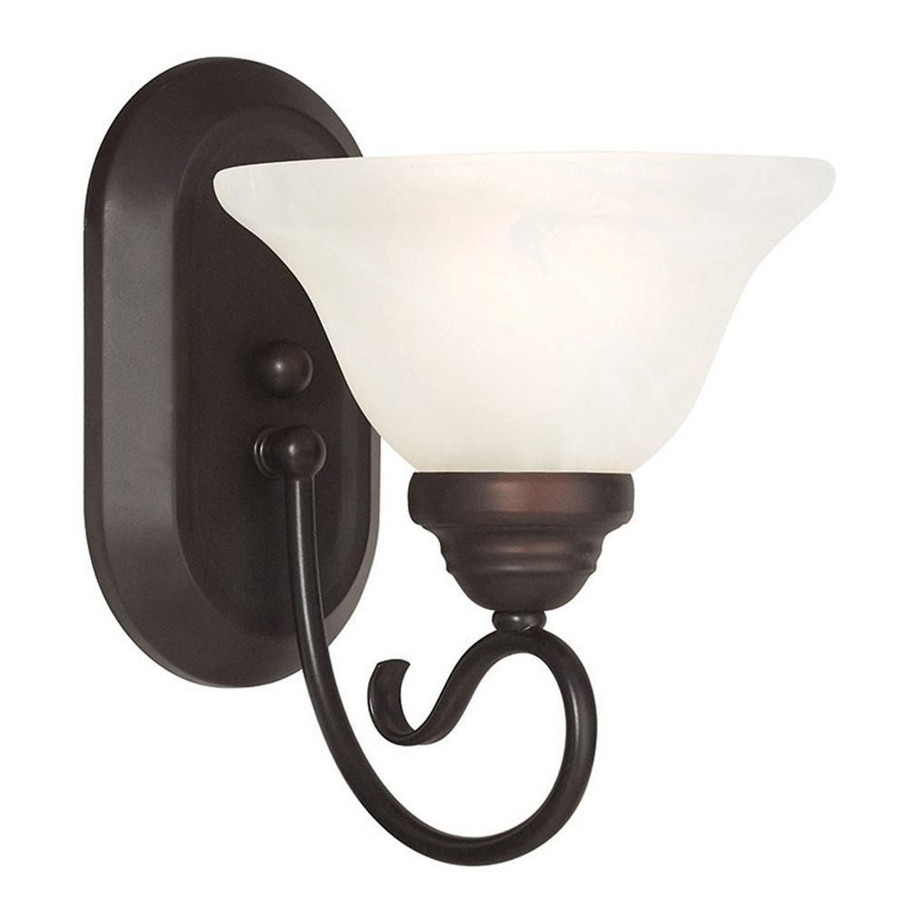 Coronado 1-Light Bronze Wall Sconce