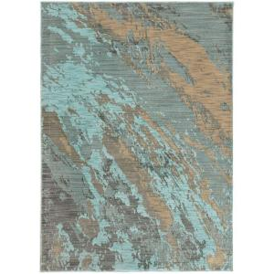 Home Decorators Collection Java Blue 8 ft  x 11 ft  Area Rug-9211840340 -  The Home Depot