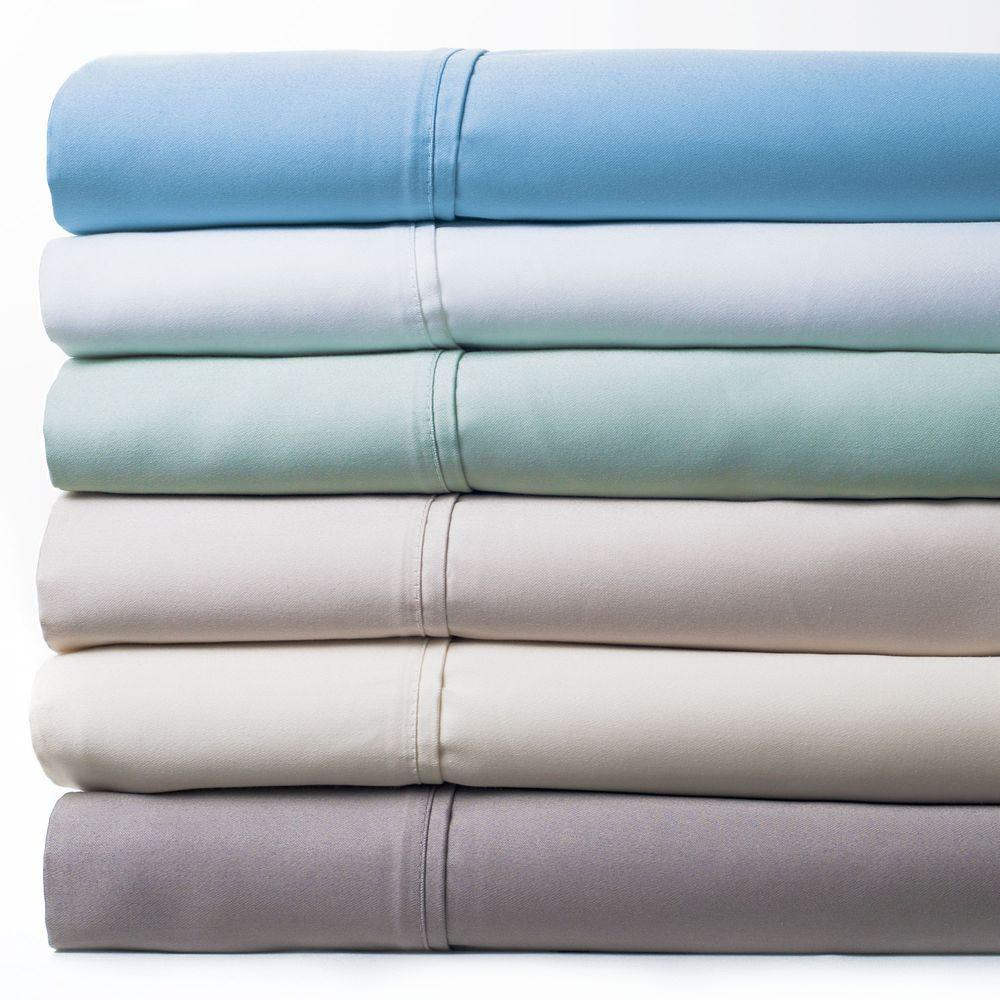 Lavish Home Green 1000 Count Cotton Sateen Queen Sheet Set
