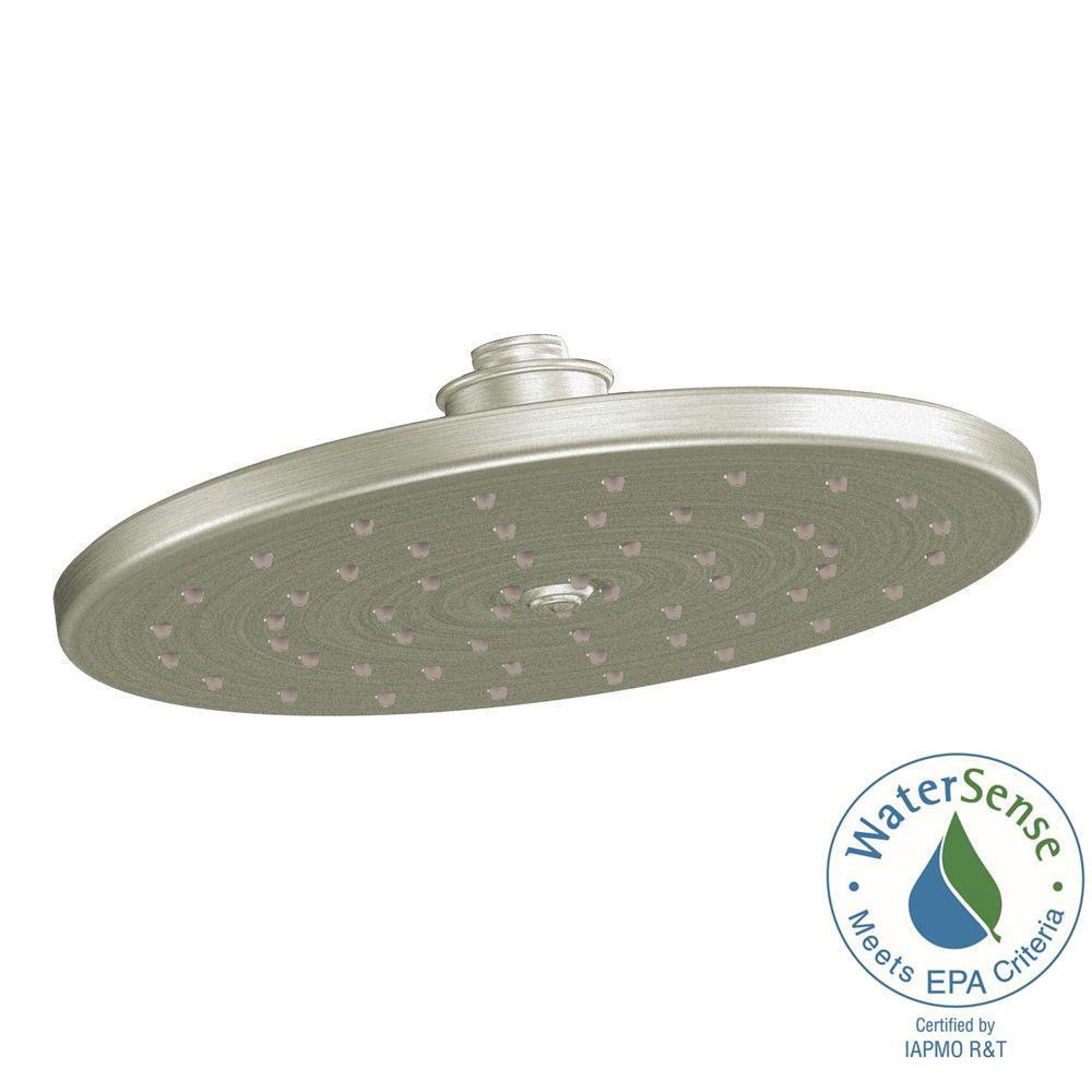 Moen Waterhill 1 Spray 10 In Eco Performance Rainshower Showerhead