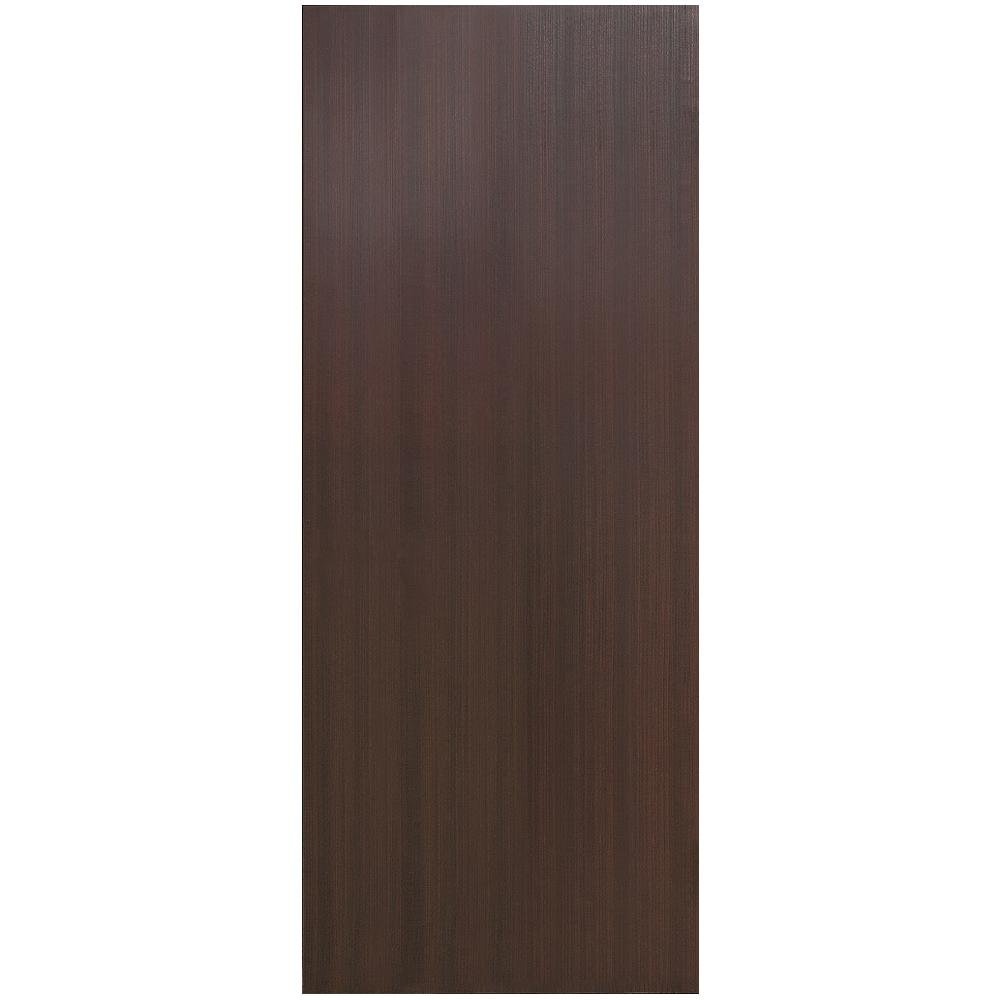 Vint Nyc 30 In X 80 In Kona Chocolate Smooth Flush Hollow Core Wood Composite Interior Door