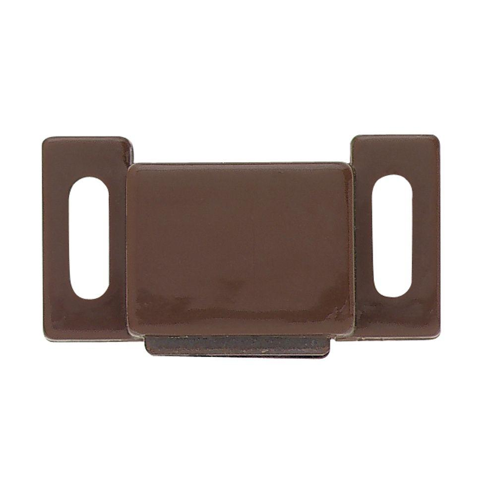Liberty 1 in. Brown Magnetic Door Catch-C08132C-BR-P2 - The Home Depot