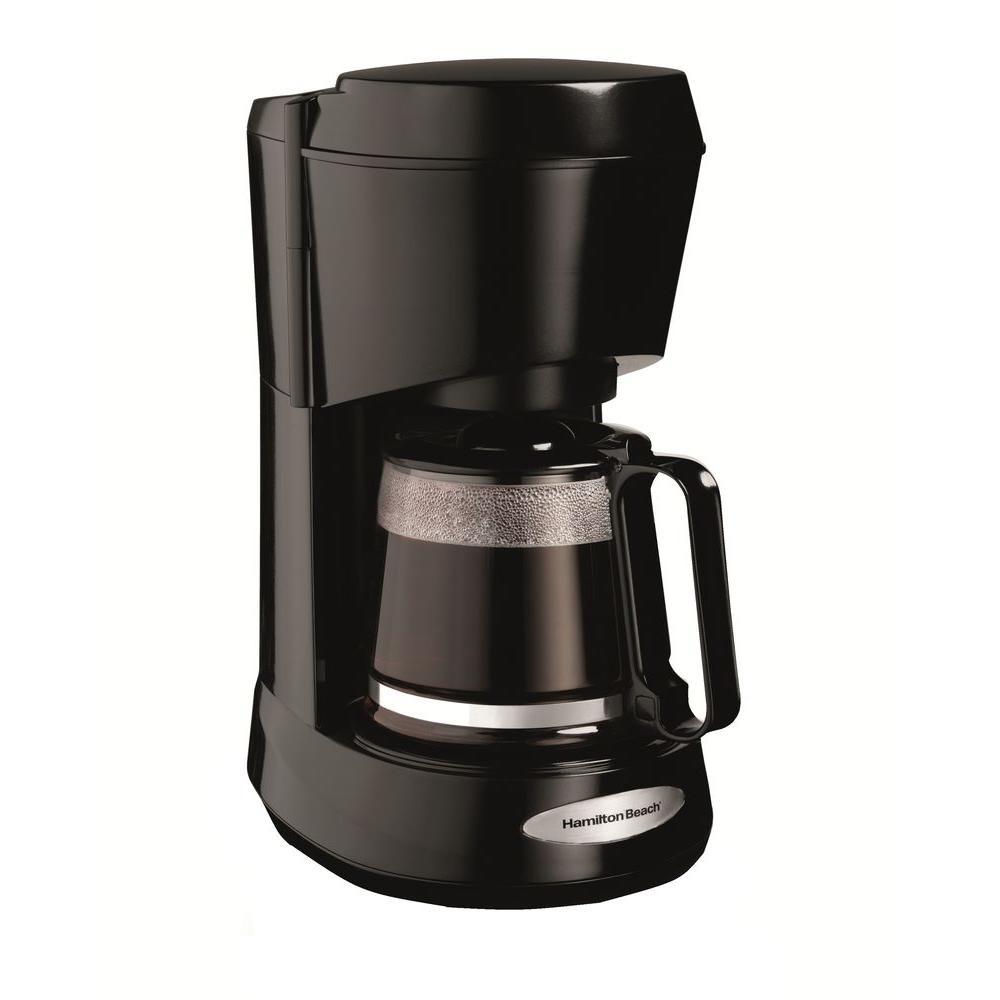 Hamilton Beach 5-Cup Coffeemaker in Black