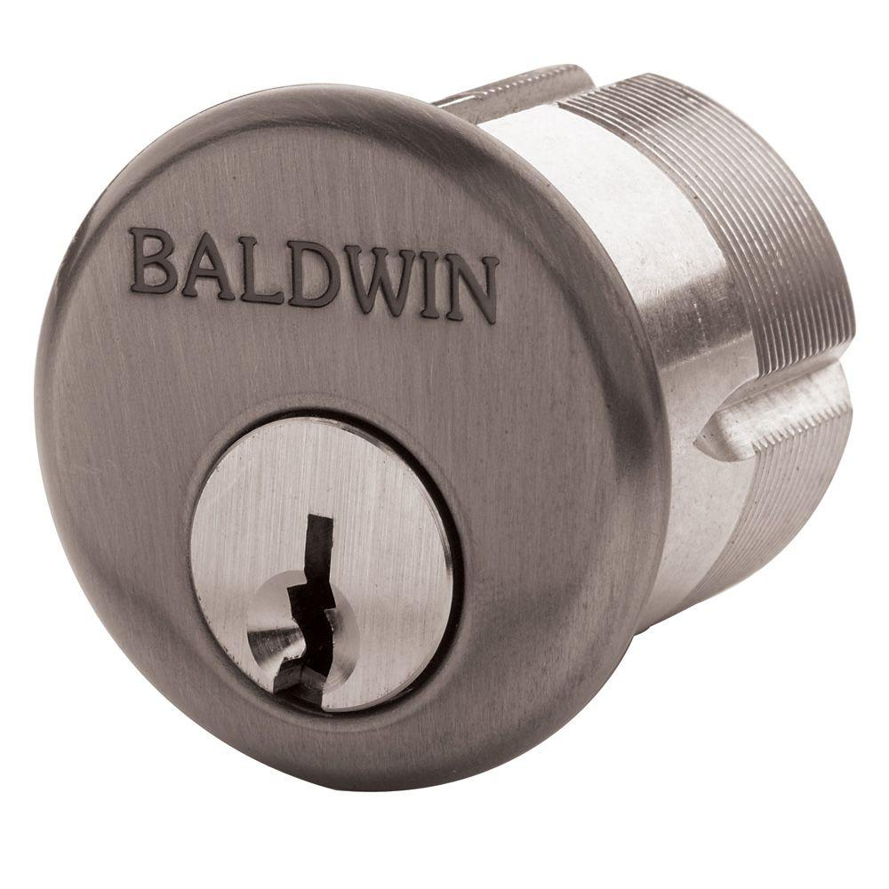 1-1/4 in. Oil-Rubbed Bronze Mortise Cylinder C Keyway