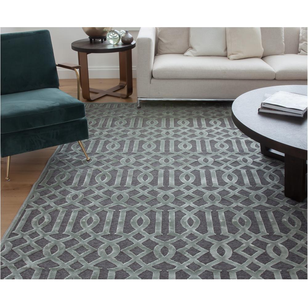Sams international napa gilford grey 5 ft 3 in x 7 ft 6 for International decor rugs