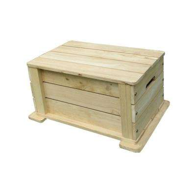 Kids Toy Box in Natural