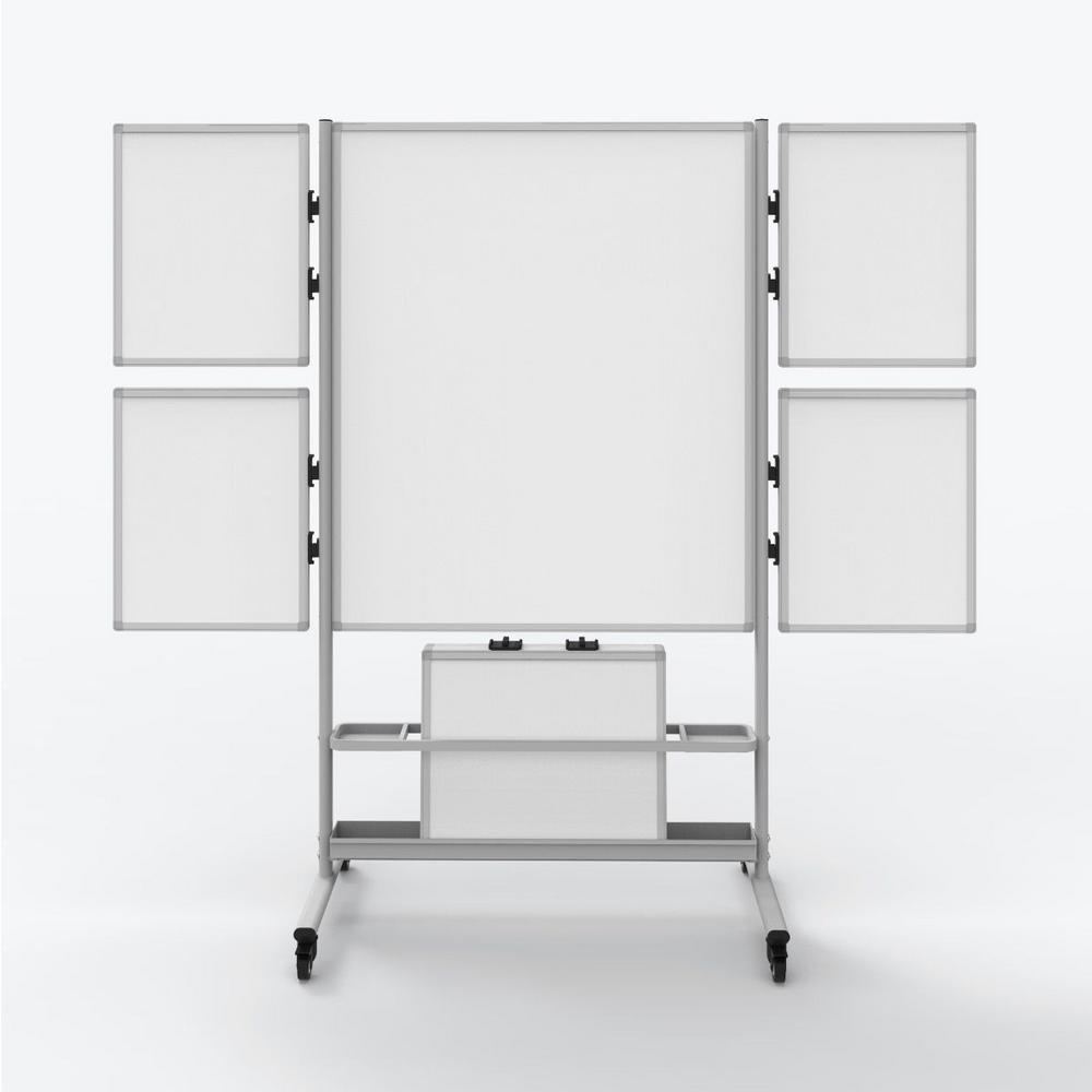 Luxor Collaboration Station 40 in. Mobile White Boardwith 4-Attachable Small Whiteboards was $736.05 now $430.67 (41.0% off)