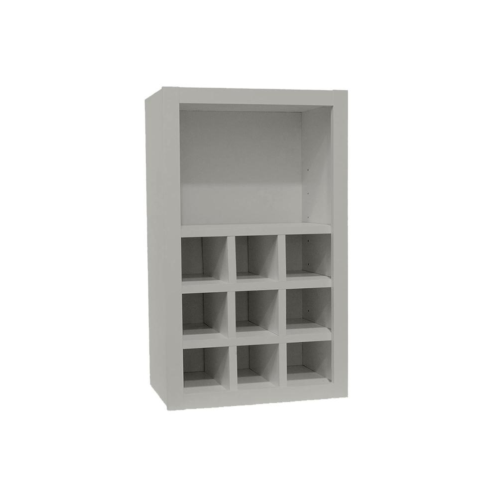 Hampton Bay Shaker Assembled Xx In Wall Flex Kitchen Cabinet - Dove grey kitchen cabinets