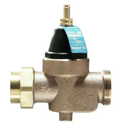 1 in. Lead-Free Brass FPT x FPT Pressure Reducing Valve