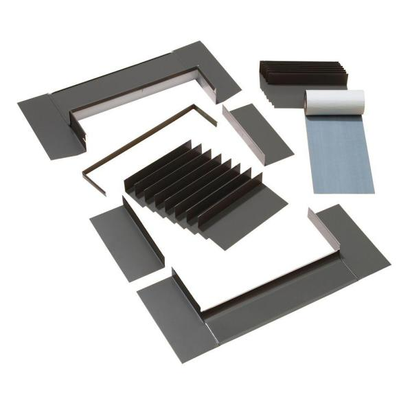 C01/C04/C06 Low-Profile Flashing with Adhesive Underlayment for Deck Mount Skylight