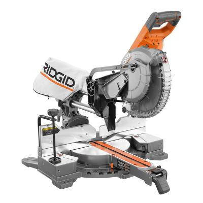 Ridgid R4210 15 Amp 10 Inch Corded Dual Bevel Sliding Miter Saw with 70° Miter Capacity (New Open Box)