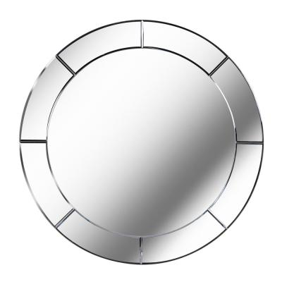 Miere 31.87 in. x 31.87 in. Glass Frameless Wall Mirror