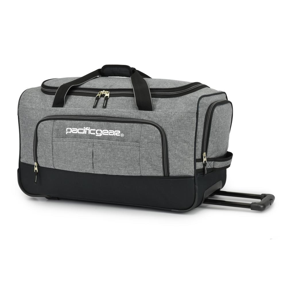 44b35f7bf0 Traveler s Choice Keystone 25 in. Rolling Grey Duffel Bag-PG03075G ...