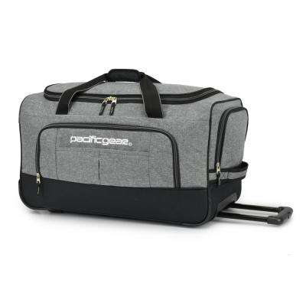 Keystone 25 in. Rolling Grey Duffel Bag