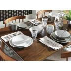 Nambe Trace 5-Piece Place Setting 18/10 Stainless Steel